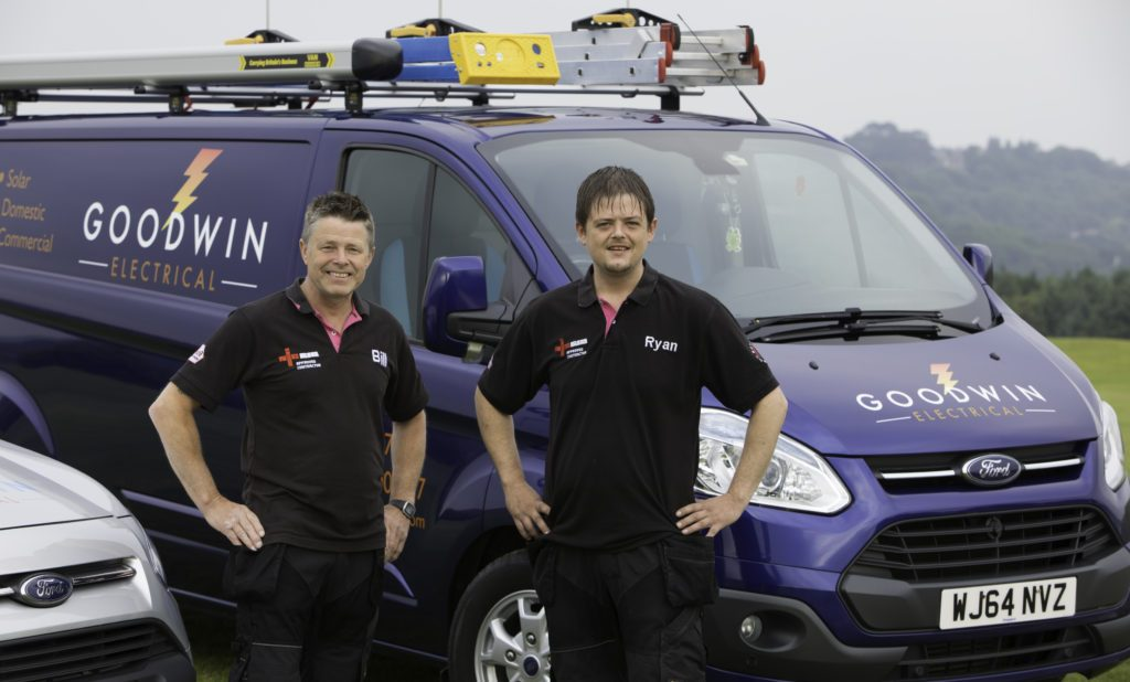 plymouth electricians bill and ryan Goodwin