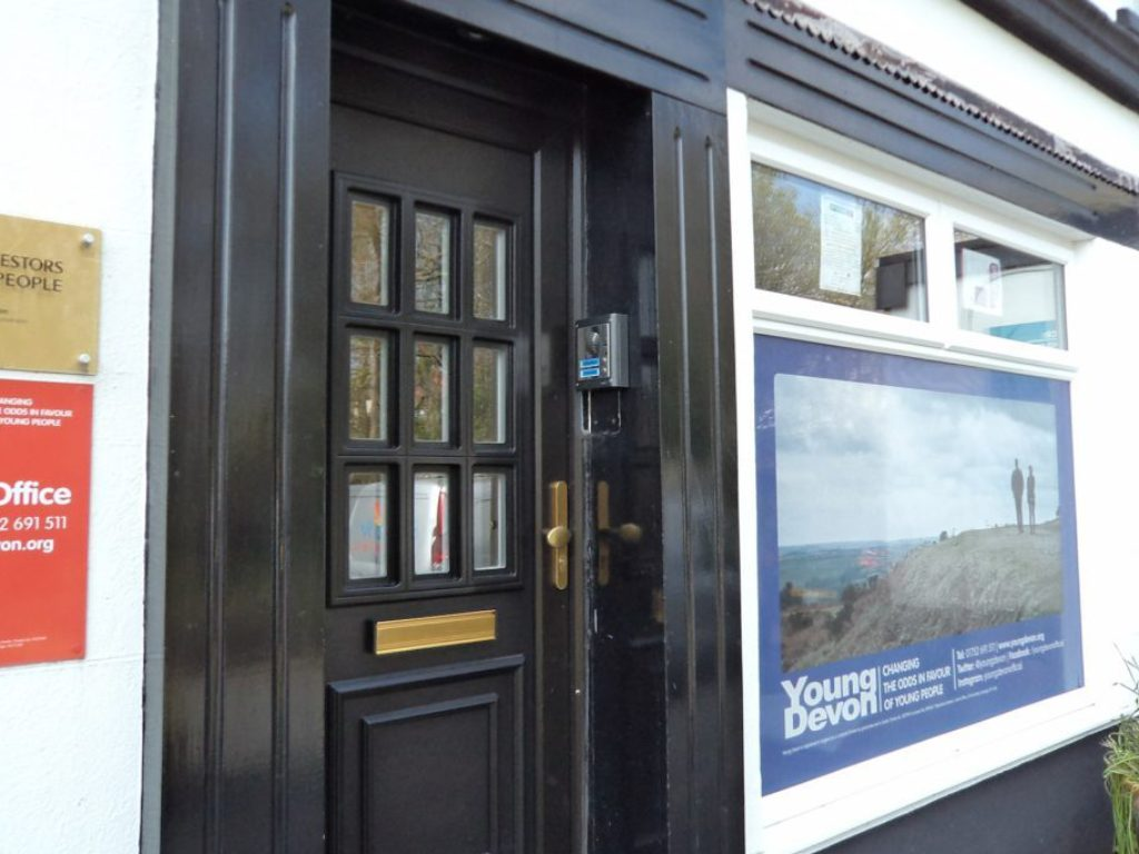 door entry system at young devon