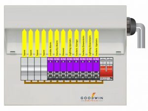 main switch consumer unit with rcbo